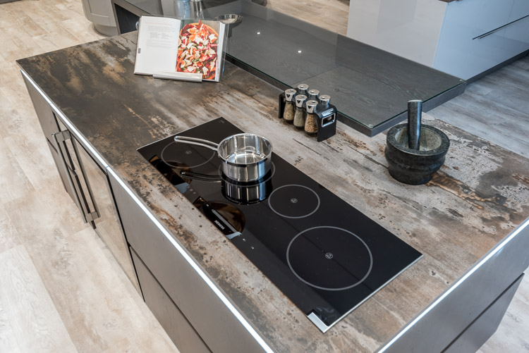 Induction cooker hob, New kitchen planning