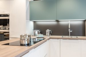 Kitchen design Induction hob