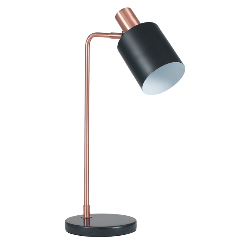 Black antique copper task table lamp millers black antique copper task table lamp mozeypictures Images