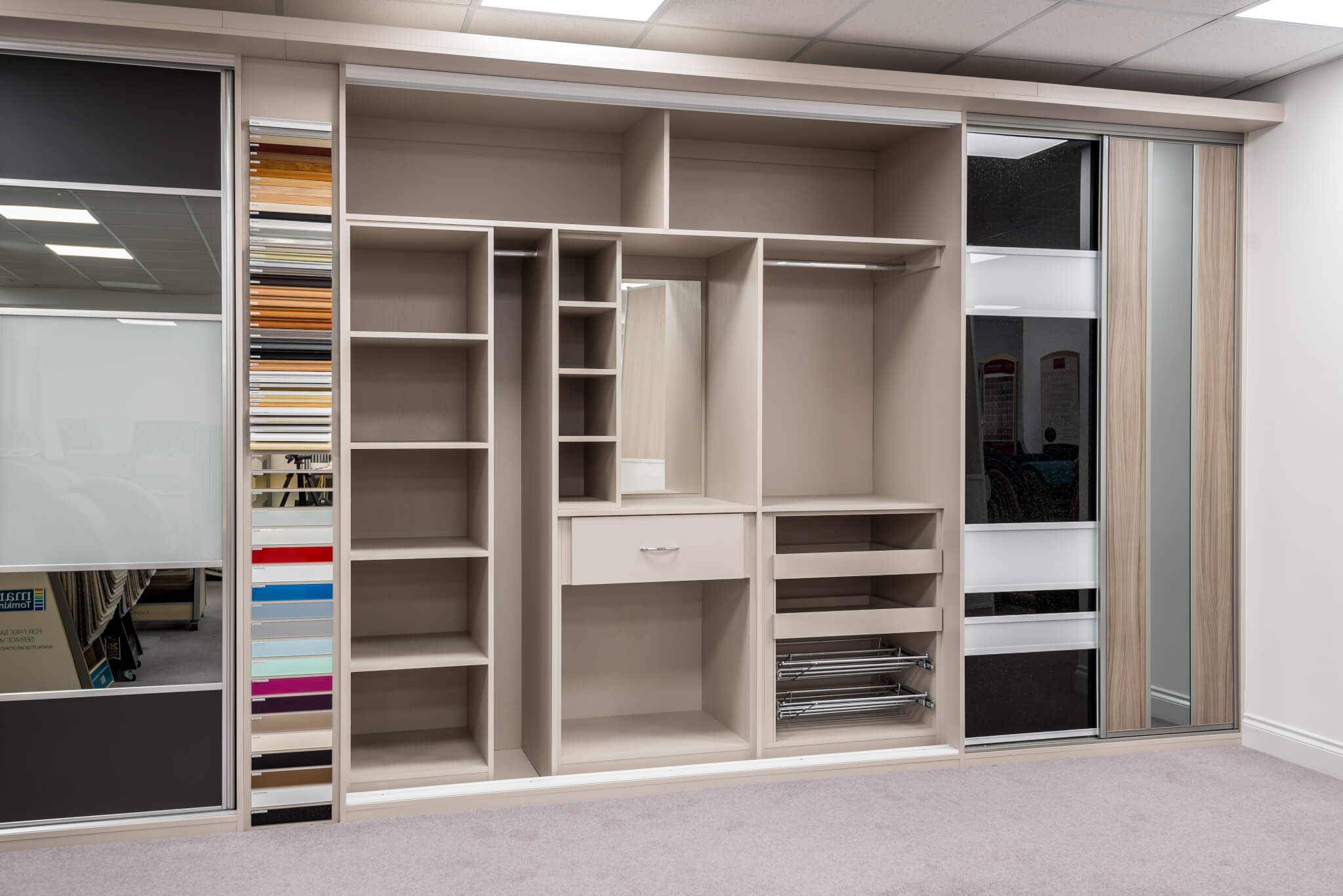 Designing The Perfect Fitted Wardrobe Shelves Vs Drawers