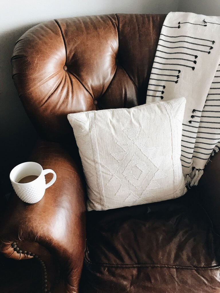 Blanket-on-sofa